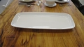 Rental store for SERVING PLATTER 21 X10  WHITE PORCELAN in Cornelius OR
