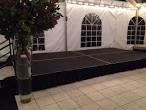 Dance floor and staging equipment rentals in Portland OR